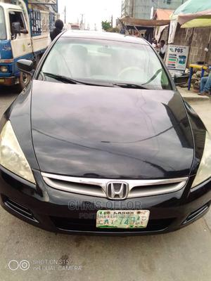 Honda Accord 2007 2.4 Type S Black | Cars for sale in Lagos State, Yaba