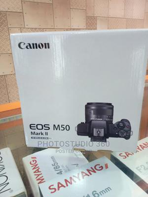 Canon EOS M50 Mark Ii 4K Camera (Brand New) | Photo & Video Cameras for sale in Lagos State, Lagos Island (Eko)