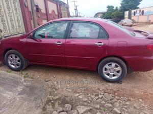 Toyota Corolla 2004 LE Red | Cars for sale in Lagos State, Abule Egba