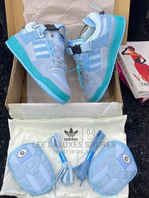 Bad Bunny X Adidas Forum Buckle Low* | Shoes for sale in Lagos State, Lagos Island (Eko)