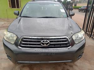 Toyota Highlander 2008 4x4 Gray   Cars for sale in Lagos State, Alimosho