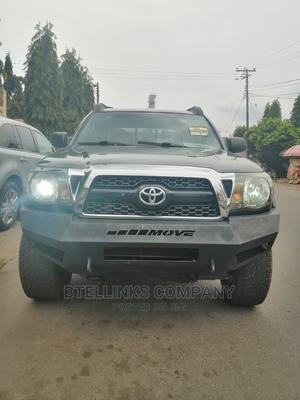 Toyota Tacoma 2011 Double Cab V6 Automatic Green | Cars for sale in Lagos State, Ogba