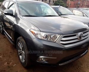 Toyota Highlander 2012 Gray   Cars for sale in Lagos State, Ikeja