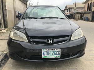 Honda Civic 2005 Black | Cars for sale in Lagos State, Ogudu