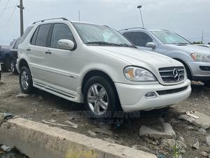 Mercedes-Benz M Class 2005 White | Cars for sale in Lagos State, Apapa