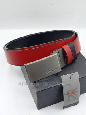 Calvin Klein Leather Belt | Clothing Accessories for sale in Lagos State, Surulere