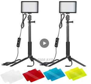 2pcs Portable 5600K LED Dimmable Photography Video Light   Accessories & Supplies for Electronics for sale in Lagos State, Ojodu