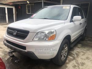 Honda Pilot 2004 White | Cars for sale in Lagos State, Ikeja
