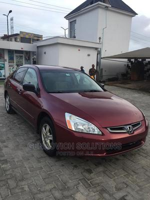 Honda Accord 2005 Automatic Red   Cars for sale in Lagos State, Ajah