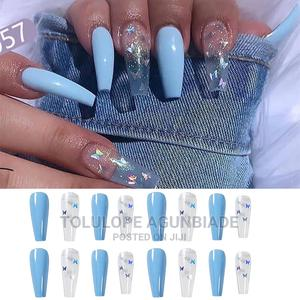 Ready Made Fake Nails Designed Nails | Jewelry for sale in Oyo State, Ibadan