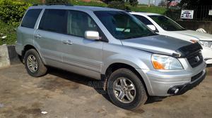 Honda Pilot 2004 EX 4x4 (3.5L 6cyl 5A) Silver | Cars for sale in Lagos State, Agboyi/Ketu