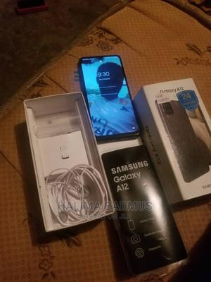 Samsung Galaxy A12 128 GB Black   Mobile Phones for sale in Lagos State, Alimosho