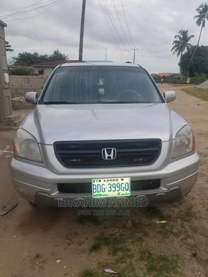 Honda Pilot 2004 Silver   Cars for sale in Lagos State, Ikorodu