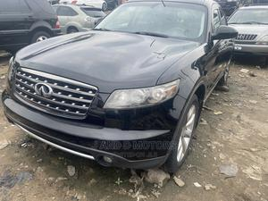 Infiniti FX35 2007 Base 4x4 (3.5L 6cyl 5A) Black | Cars for sale in Lagos State, Apapa