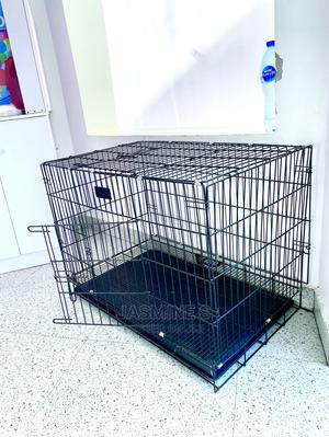 A Fairly Used Collapsible Dog Cage Up for Sale. | Pet's Accessories for sale in Abuja (FCT) State, Gwarinpa