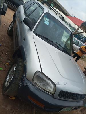 Toyota RAV4 2001 Base AWD Silver | Cars for sale in Lagos State, Ejigbo