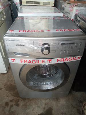 7kg Samsung Ecobubble Automatic Washing Machine | Home Appliances for sale in Lagos State, Surulere
