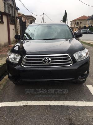 Toyota Highlander 2008 Limited 4x4 Black   Cars for sale in Lagos State, Oshodi