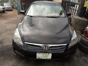 Honda Accord 2007 2.4 Black | Cars for sale in Lagos State, Isolo