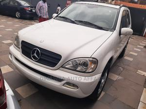 Mercedes-Benz M Class 2003 ML 320 Off White   Cars for sale in Lagos State, Surulere