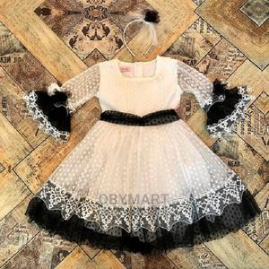 Turkey Girls Gown With Hair Band | Children's Clothing for sale in Lagos State, Isolo
