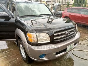 Toyota Sequoia 2002 Black   Cars for sale in Lagos State, Agege