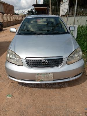 Toyota Corolla 2004 1.4 D Automatic Silver | Cars for sale in Edo State, Benin City