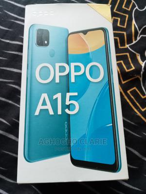 Oppo A15 32GB Blue   Mobile Phones for sale in Delta State, Sapele