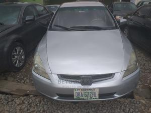Honda Accord 2005 Sedan LX V6 Automatic Silver | Cars for sale in Lagos State, Agege