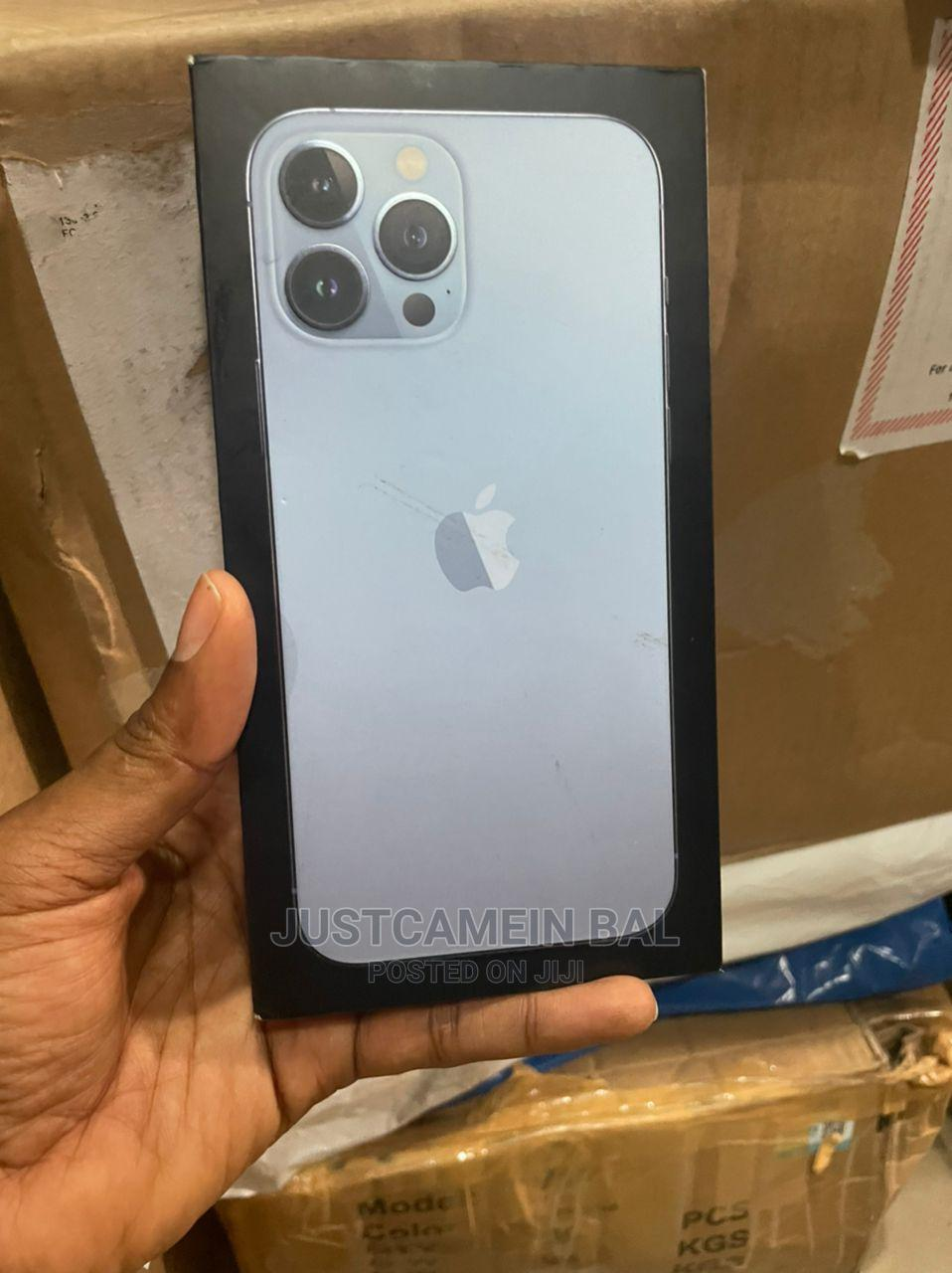 New Apple iPhone 13 Pro Max 128 GB Blue