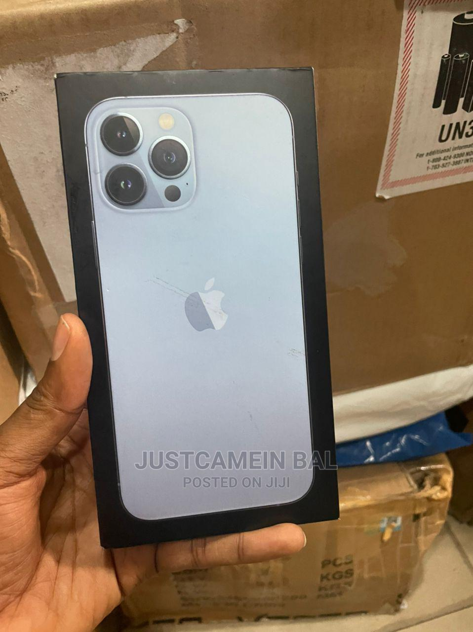 New Apple iPhone 13 Pro Max 128 GB Blue   Mobile Phones for sale in Ikeja, Lagos State, Nigeria