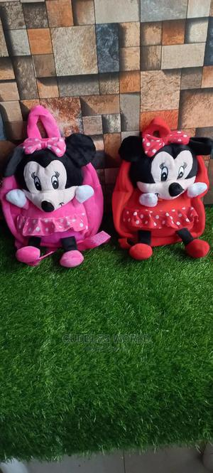 Mickey and Minnie Mouse Teddy Bag | Babies & Kids Accessories for sale in Lagos State, Alimosho