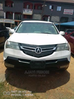Acura MDX 2008 SUV 4dr AWD (3.7 6cyl 5A) White | Cars for sale in Lagos State, Ejigbo