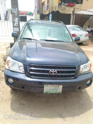 Toyota Highlander 2004 Limited V6 4x4 Blue | Cars for sale in Lagos State, Ejigbo