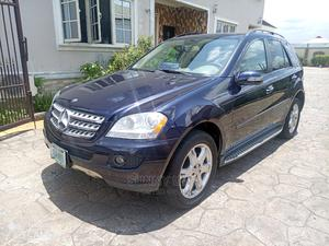 Mercedes-Benz M Class 2007 ML 350 4Matic Blue | Cars for sale in Akwa Ibom State, Uyo
