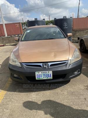 Honda Accord 2005 Sedan LX Automatic Gold | Cars for sale in Oyo State, Oluyole
