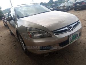 Honda Accord 2006 2.0 Comfort Automatic Gold | Cars for sale in Abuja (FCT) State, Gwarinpa