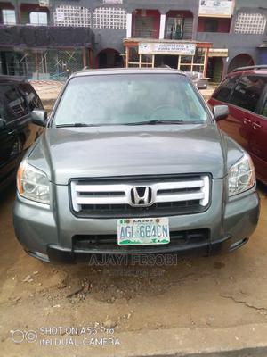 Honda Pilot 2007 EX-L 4x2 (3.5L 6cyl 5A) Gray | Cars for sale in Lagos State, Ejigbo