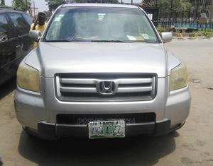 Honda Pilot 2007 EX-L 4x4 (3.5L 6cyl 5A) Silver | Cars for sale in Lagos State, Surulere
