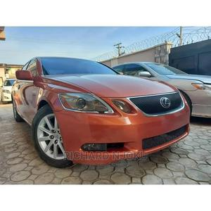 Lexus GS 2009 300 Automatic Orange   Cars for sale in Lagos State, Agege