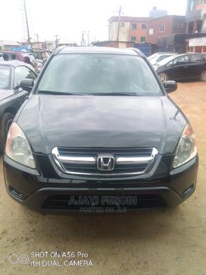 Honda CR-V 2003 EX 4WD Automatic Black | Cars for sale in Lagos State, Ejigbo