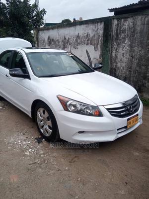 Honda Accord 2010 Sedan EX V-6 White | Cars for sale in Lagos State, Ikeja
