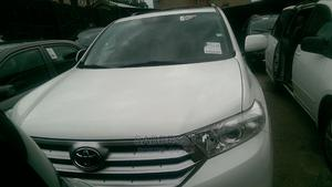 Toyota Highlander 2013 White | Cars for sale in Lagos State, Isolo