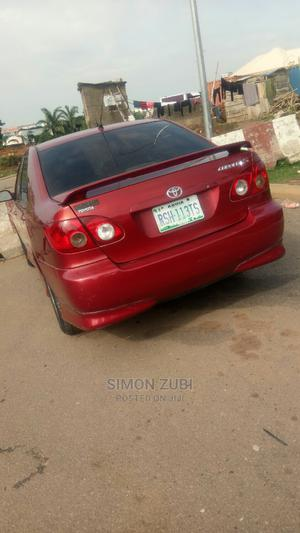 Toyota Corolla 2007 S Red | Cars for sale in Abuja (FCT) State, Mabushi