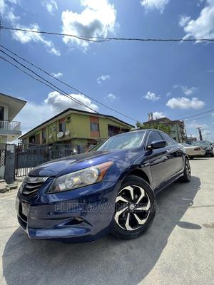 Honda Accord 2010 Sedan EX-L Blue | Cars for sale in Lagos State, Surulere