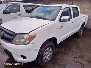 Toyota Hilux 2007 White   Cars for sale in Lagos State, Abule Egba