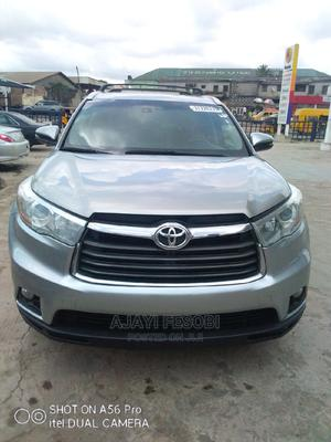 Toyota Highlander 2015 LE 4dr SUV (3.5L 6cyl 6A) Silver | Cars for sale in Lagos State, Ejigbo