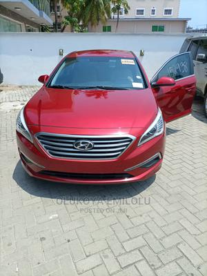 Hyundai Sonata 2015 Red   Cars for sale in Lagos State, Yaba