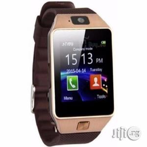 Dz09 Smartwatch - Supports Sim Card & Memory Card | Smart Watches & Trackers for sale in Lagos State, Ikeja