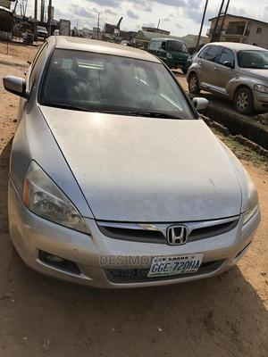 Honda Accord 2007 Coupe EX-L V-6 Automatic Silver | Cars for sale in Lagos State, Agege